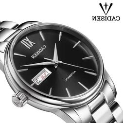 Top CADISEN Men Automatic Mechanical Watches Time Seiko NH36