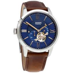 Fossil Townsman Automatic Blue Satin Dial Men's Watch ME3110