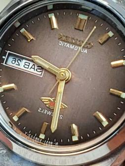 VINTAGE  CITIZEN LADY AUTOMATIC 21 JEWELS LIGHT BROWN DIAL.F