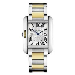 Cartier W5310047 Tank Anglaise Women's 18kt Yellow Gold Auto