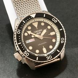 watch 5 sport automatic black dial milano