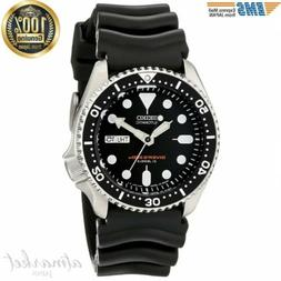 SEIKO Watch SKX007J1 Analog Japanese-Automatic  Black Rubber