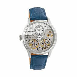 Heritor Winthrop Automatic Silver Dial Men's Watch HR7303