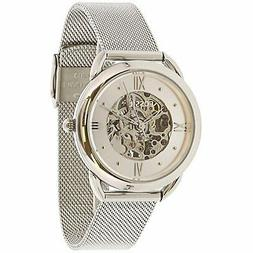 Fossil Women's Tailor Mechanical ME3166 Silver Stainless-Ste